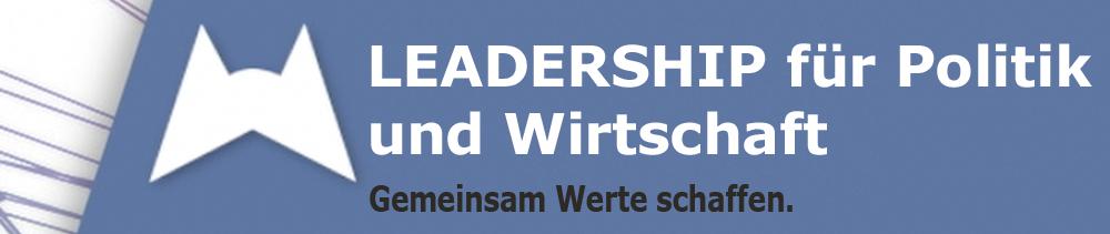 Leadership für Politik & Wirtschaft